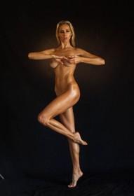 Sexy Jesse Golden Nude