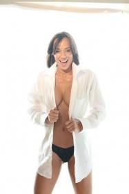 Tameka Jacobs cleavage