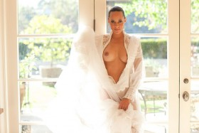 Tameka Jacobs shows her tits