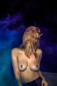 Ashley James Topless Photo