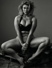 Hunter McGrady Naked Photoshoot