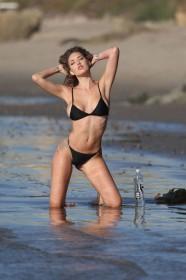 Jules Liesl in bikini photoshoot