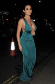 Hot Demi Rose Cleavage Photo