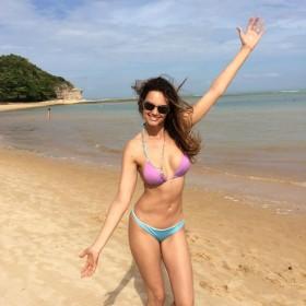 Hot Lisalla Montenegro in bikini leaked
