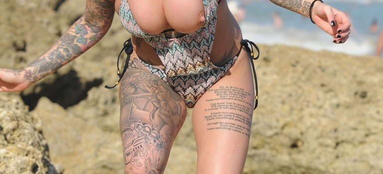 Jemma Lucy Nip Slip (10 Photos)