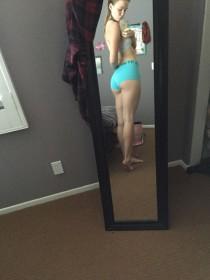 Mackenzie Lintz Sexy Ass Selfie