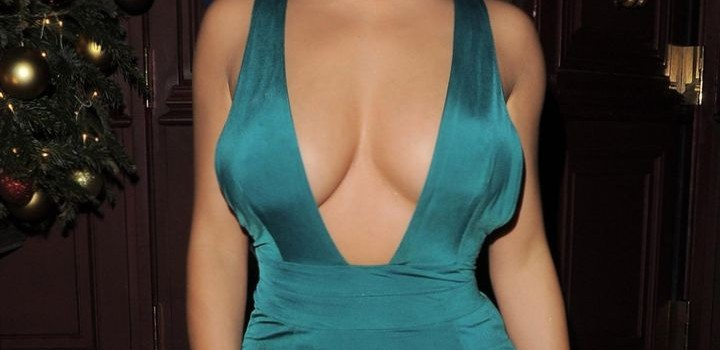 Demi Rose Cleavage (6 Photos)
