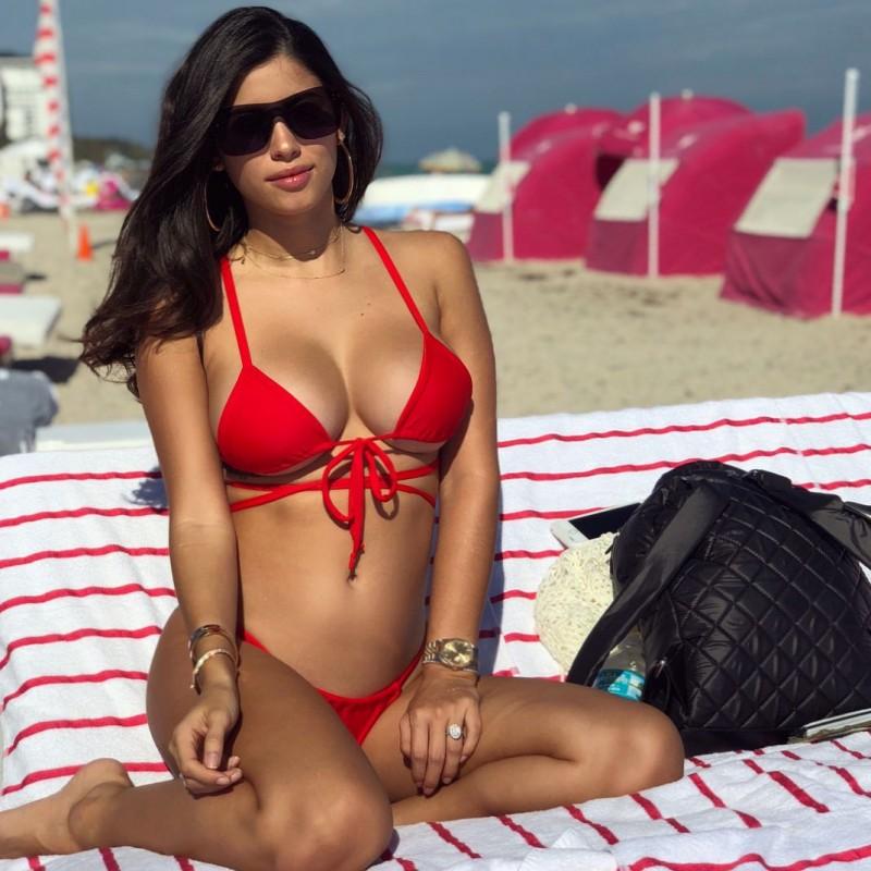 Alexandra Rodriguez Bikini Candids