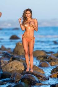 Brittney Palmer Topless bikini