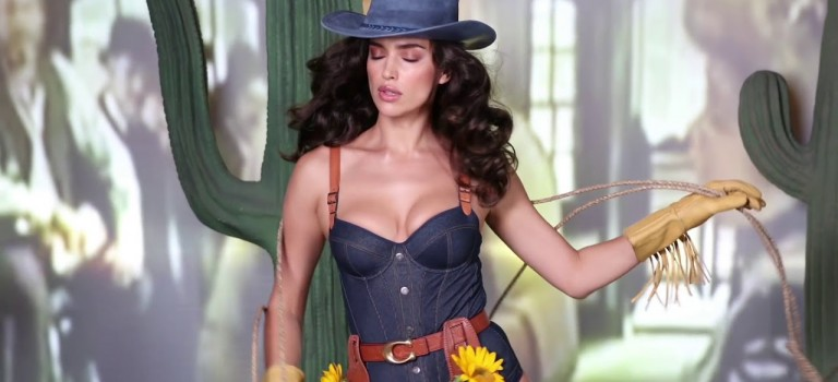 Irina Shayk – LOVE Advent 2017 Day 20