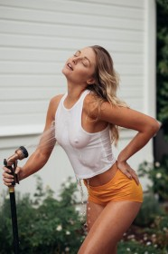 Megan Samperi Hard Nipples