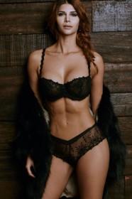 Micaela Schäfer in sexy lingerie