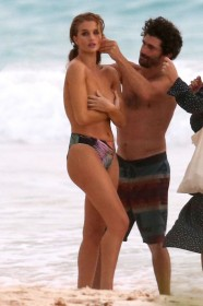Rosie Huntington-Whiteley Topless Photoshoot
