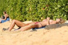 Toni Garrn Topless Pic