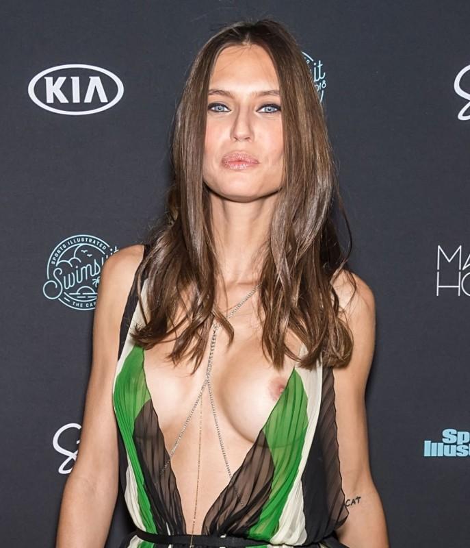 Bianca Balti Nip Slip
