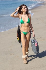 Hot Blanca Blanco in bikini