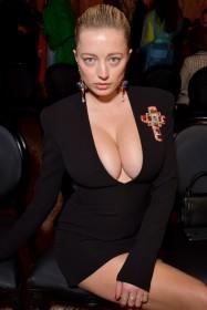 Hot Caroline Vreeland Cleavage