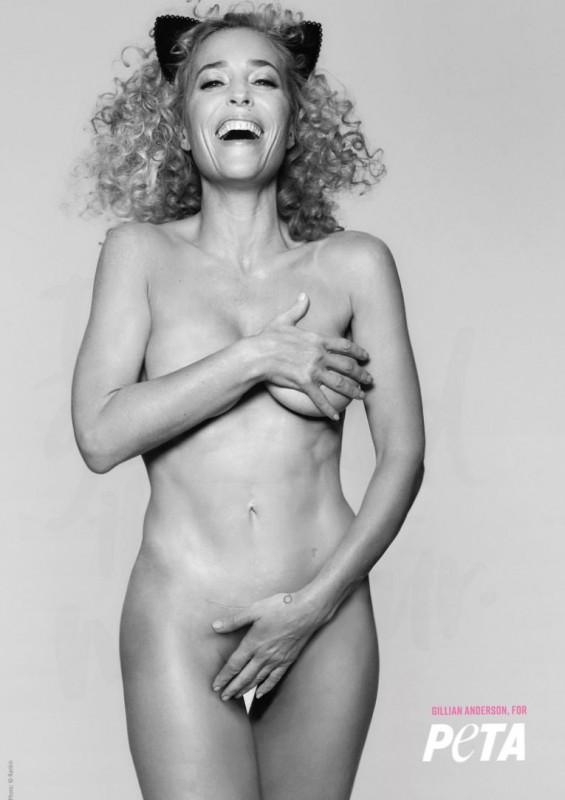 Hot Gillian Anderson Nude Photo