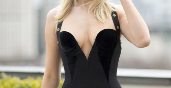 Jennifer Lawrence Braless (9 Photos)