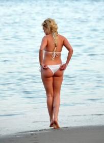 Jorgie Porter Bikini Candids