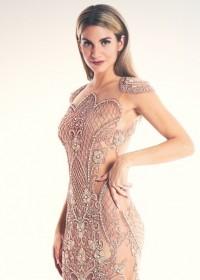 Rachel McCord in sexy dress
