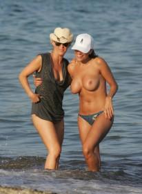 Rebecca Loos Topless Pic