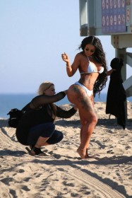 Sexy Blac Chyna in bikini