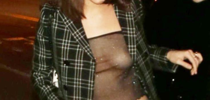 Bella Hadid Braless (11 Photos)
