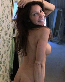 Danielle Staub home video screen
