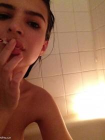 Emily Ratajkowski smoking private photo