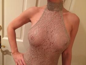 Joanna Krupa see thru tits photo