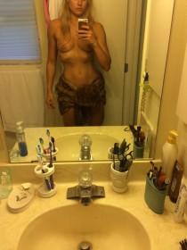 Kymberli Nance Topless Selfie