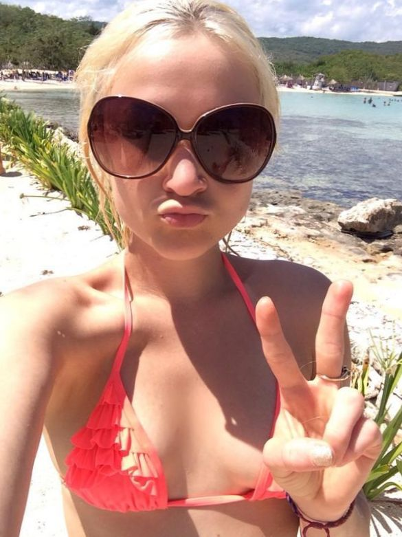 Lauren O'Neil in bikini leaked photo