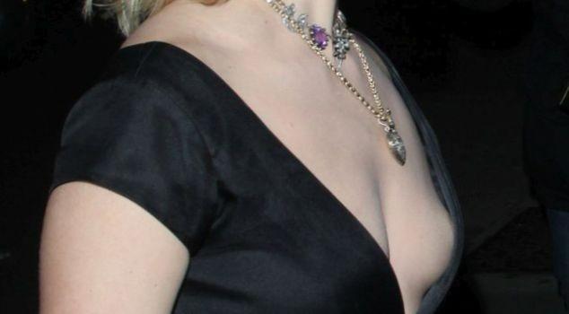 Dianna Agron Nip Slip (4 Pics)