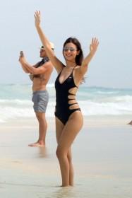 Victoria Justice in swimsuit