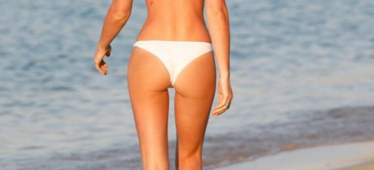 Abbey Clancy in Bikini (11 Photos)
